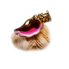 Pink conch shell Pendant